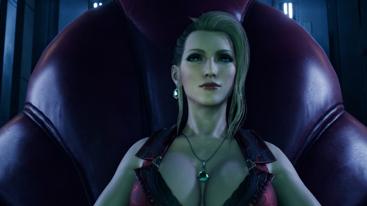 Final Fantasy VII Remake FFVIIR_Screenshot_April_Scarlet
