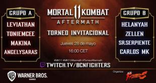 Barcelona Fighters nos trae un torneo de Mortal Kombat 11: Aftermath