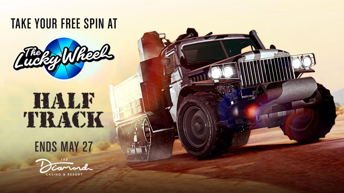 GTA Online - 5 21 2020 - Lucky Wheel Vehicle