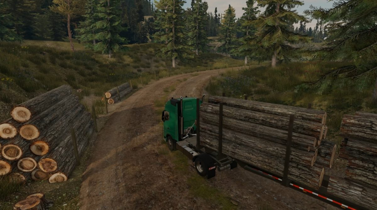 Truck Driver gameplay no interface