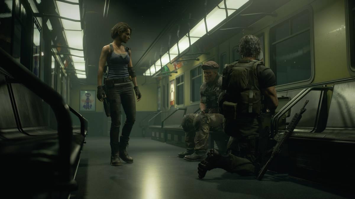 Resident Evil 3 Remake gameplay 1
