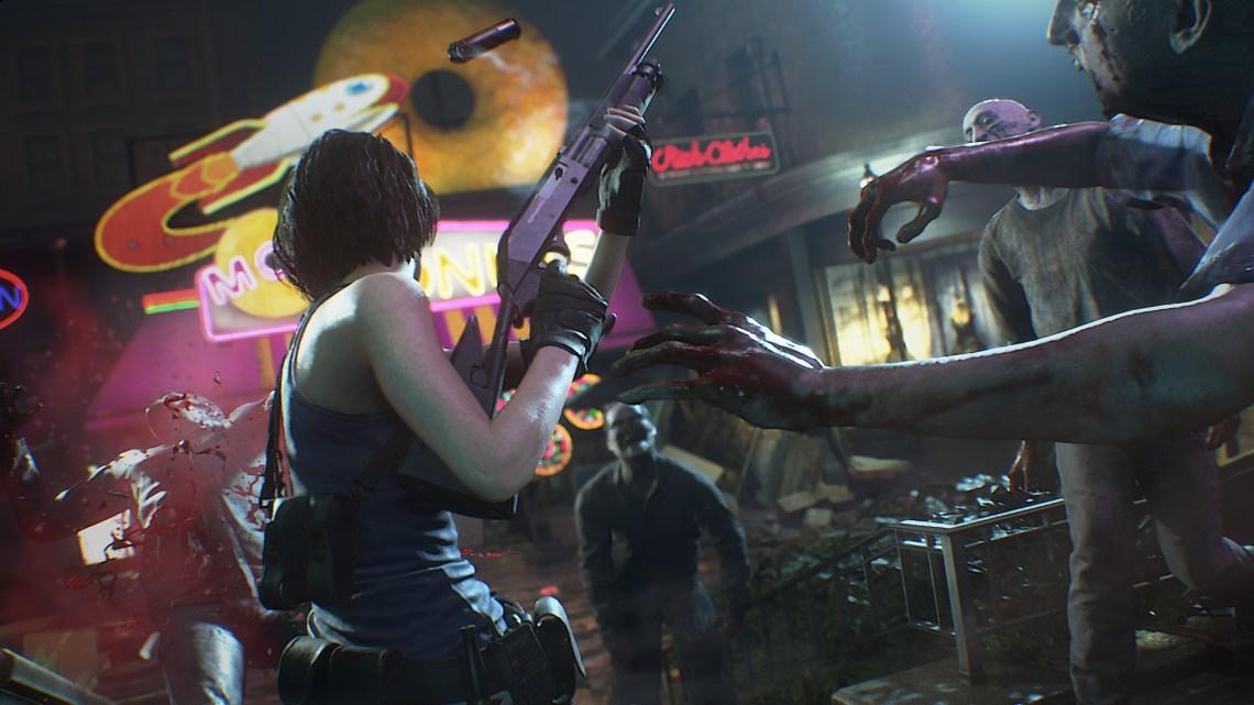 Resident Evil 3 Remake gameplay 3
