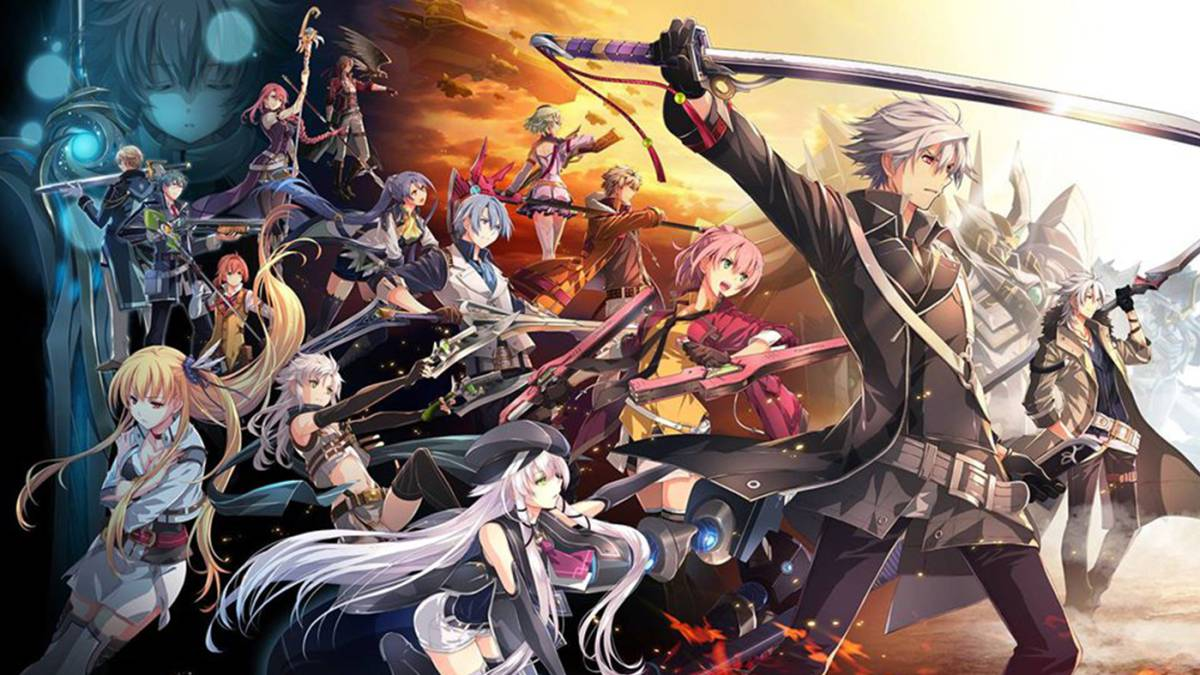 The Legend of Heroes Trails of Cold Steel IV art