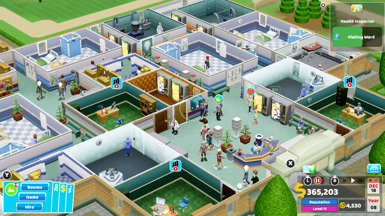 two point hospital gameplay 001