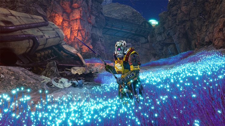 The outer Worlds PEril on Gorgon DLC sshot