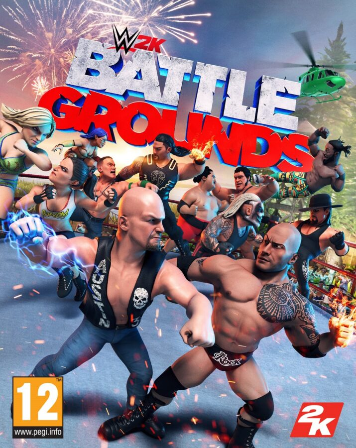 WWE 2K Battlegrounds 2KSWIN_WWE2KBG_AG_2D_FOB_PEGI12