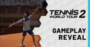 Tennis World Tour 2 muestra su primer trailer