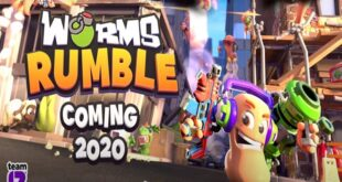 Worms Rumble llegará a PS4 a finales de 2020