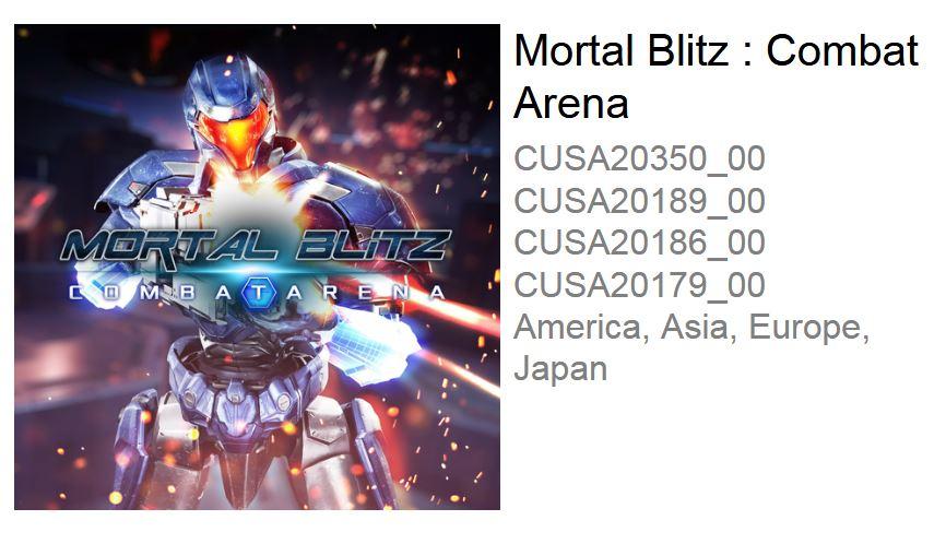 Mortal Blitz: Combat Arena
