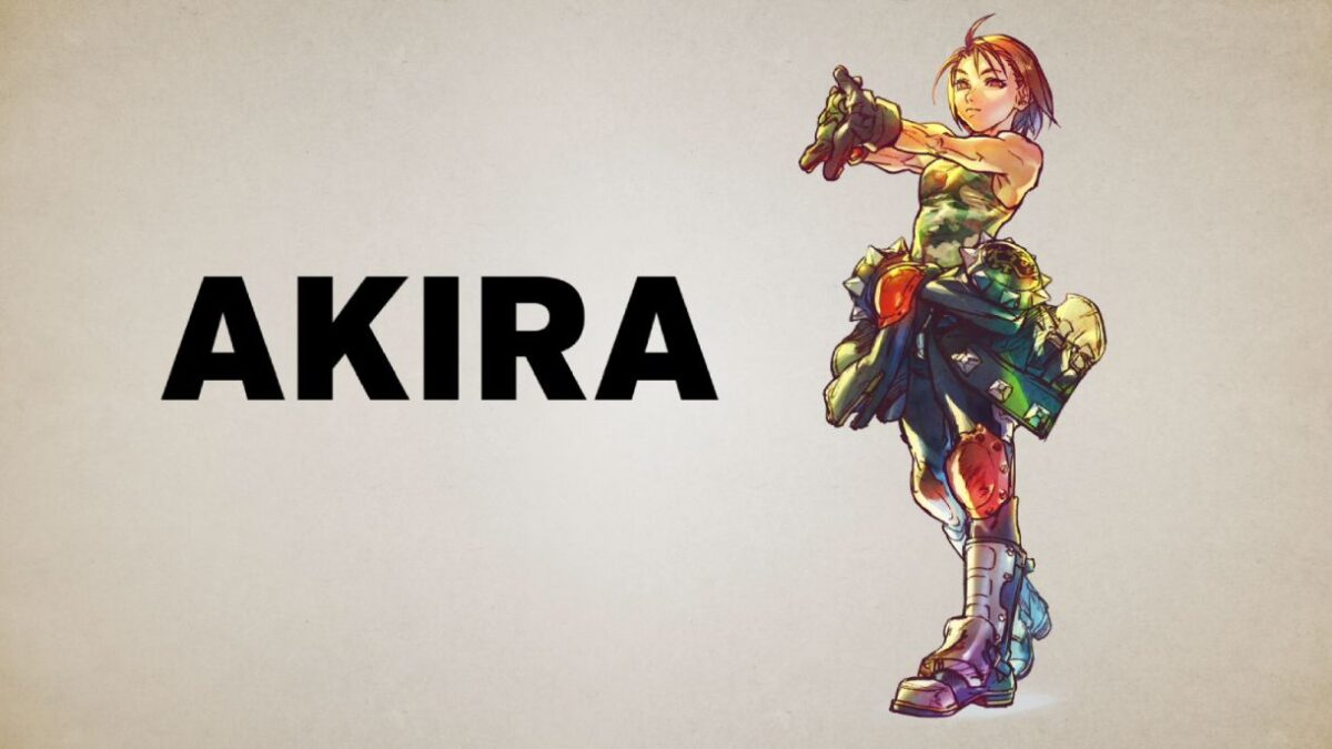 Street Fighter V Champion Edition Akira_SFVSU