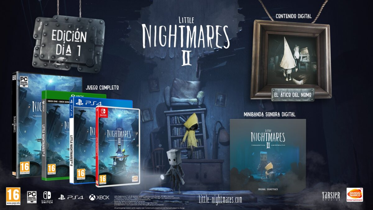 Little Nightmares 2 Day_one_edition_ES