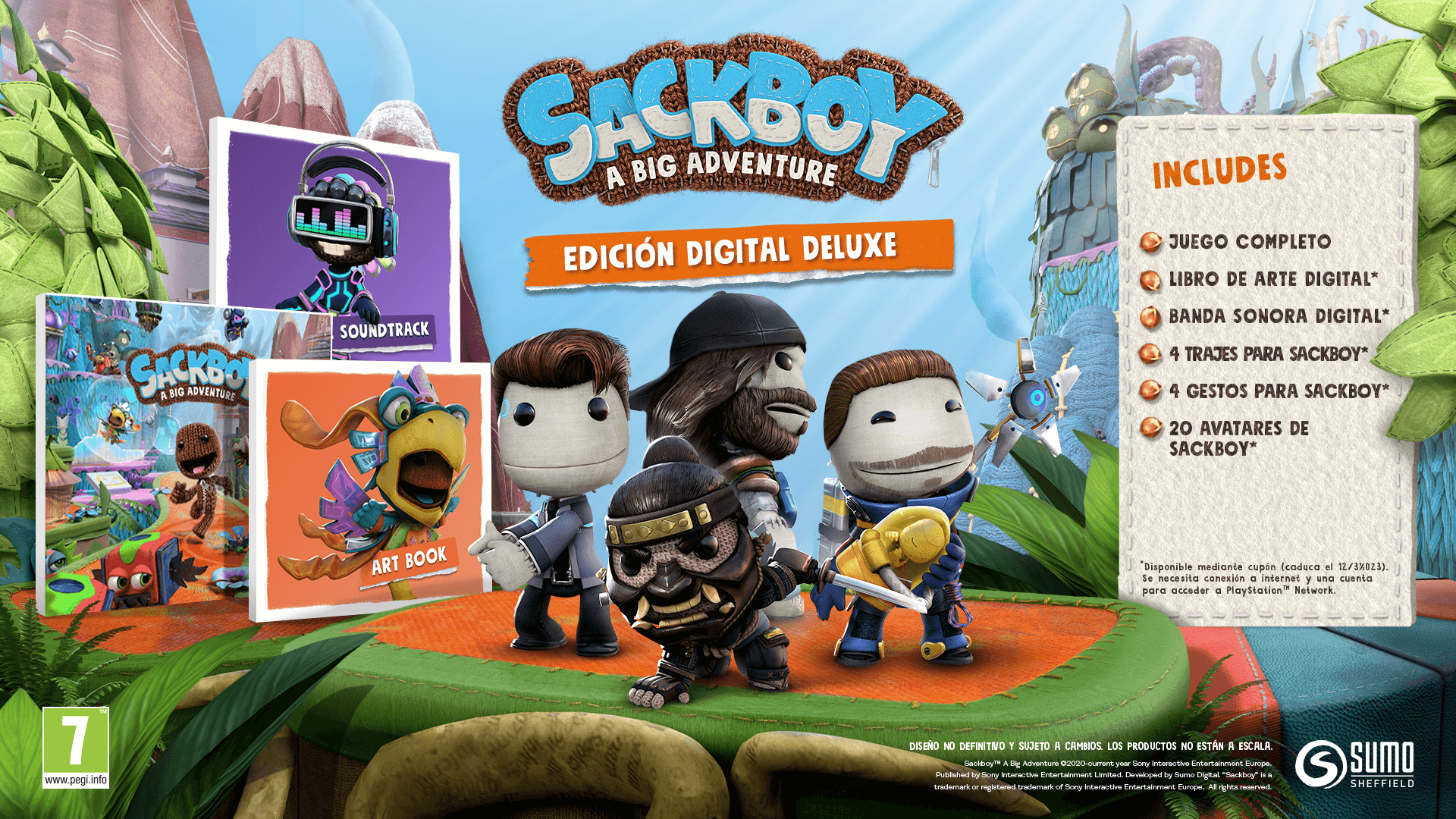 Playstation 5 _SACKBOY_ED_DIG_DELUXE