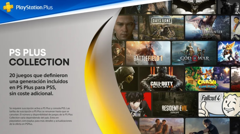 Playstation Plus Collection Playstation 5