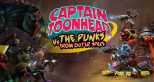 Mucha locura nos esperan en Captain Toonhead vs The Punks from Outer Space