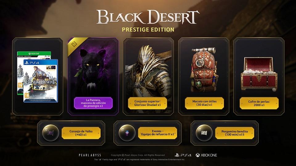 Black Desert bodegón