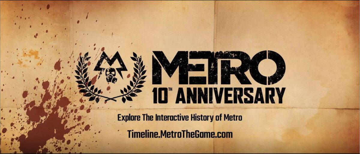 Metro Exodus Saga Metro 10 aniversario