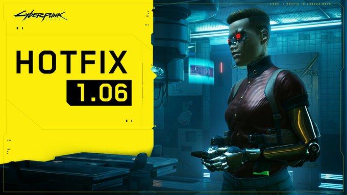 Cyberpunk 2077 hotfix 106