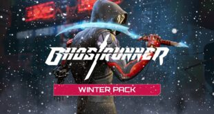 Ghostrunner Winter pack dlc main theme