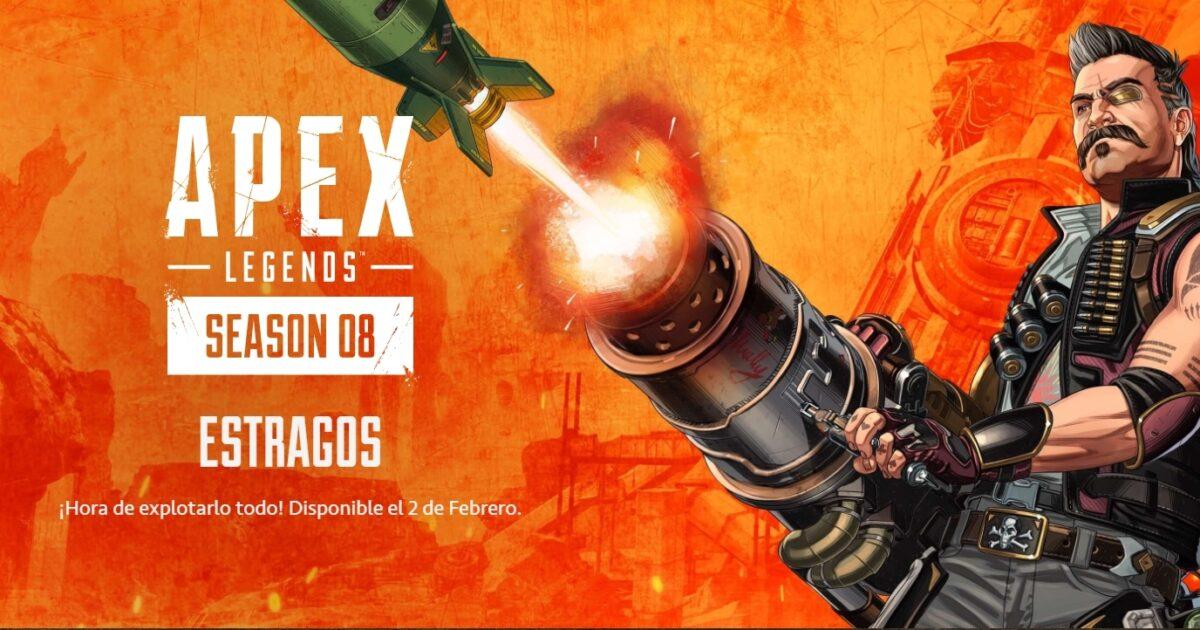 Apex Legends Temporada 8 main theme Fuse Mayhem