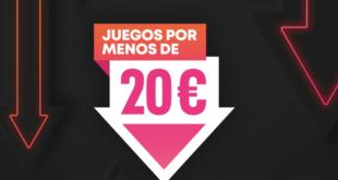 PlayStation Store, juegos por menos de 20€
