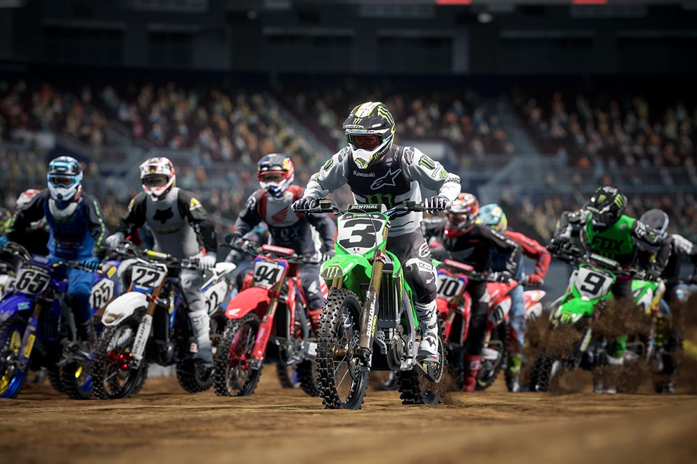 Monster Energy Supercross 4 carrera