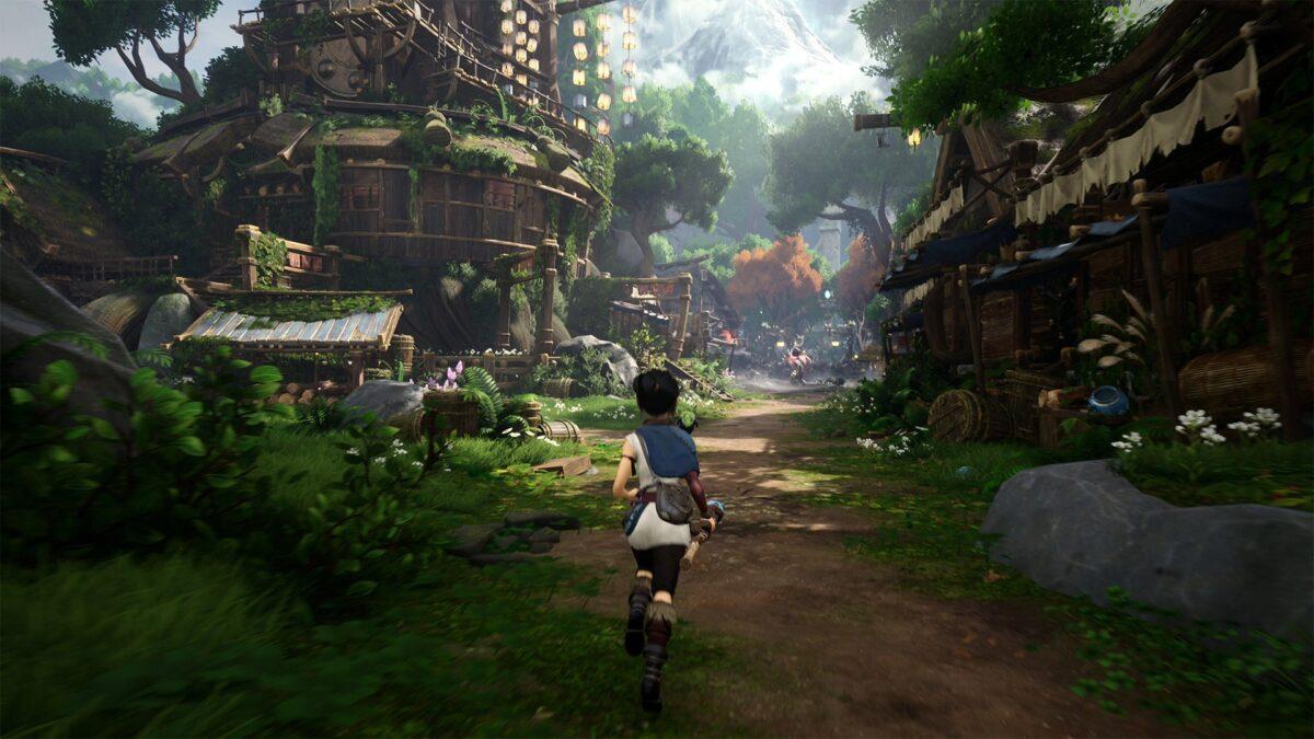 Kena Bridge of Spirits gameplay