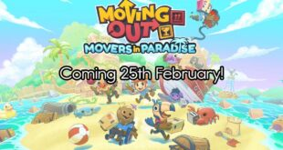 Moving Out Paradise DLC theme