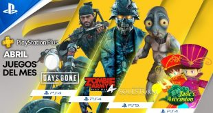 Playstation Plus abril 2021