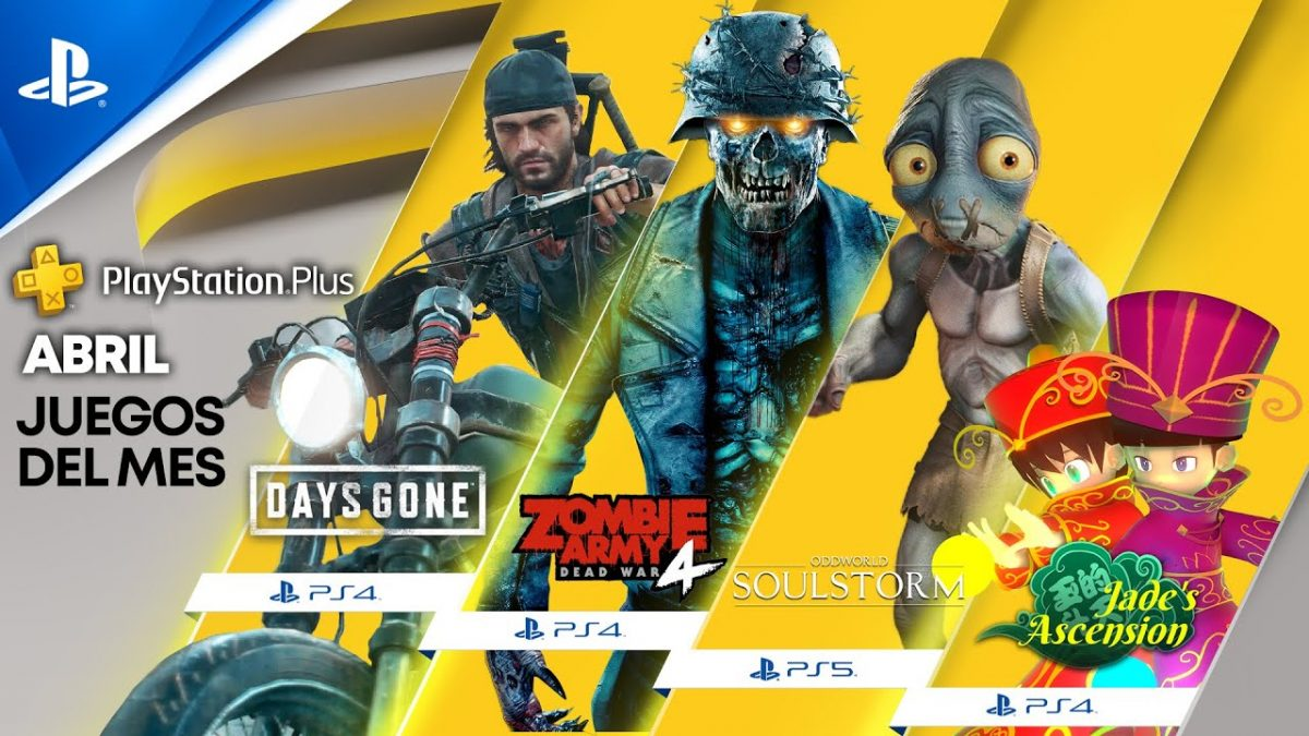 Playstation Plus abril 2021