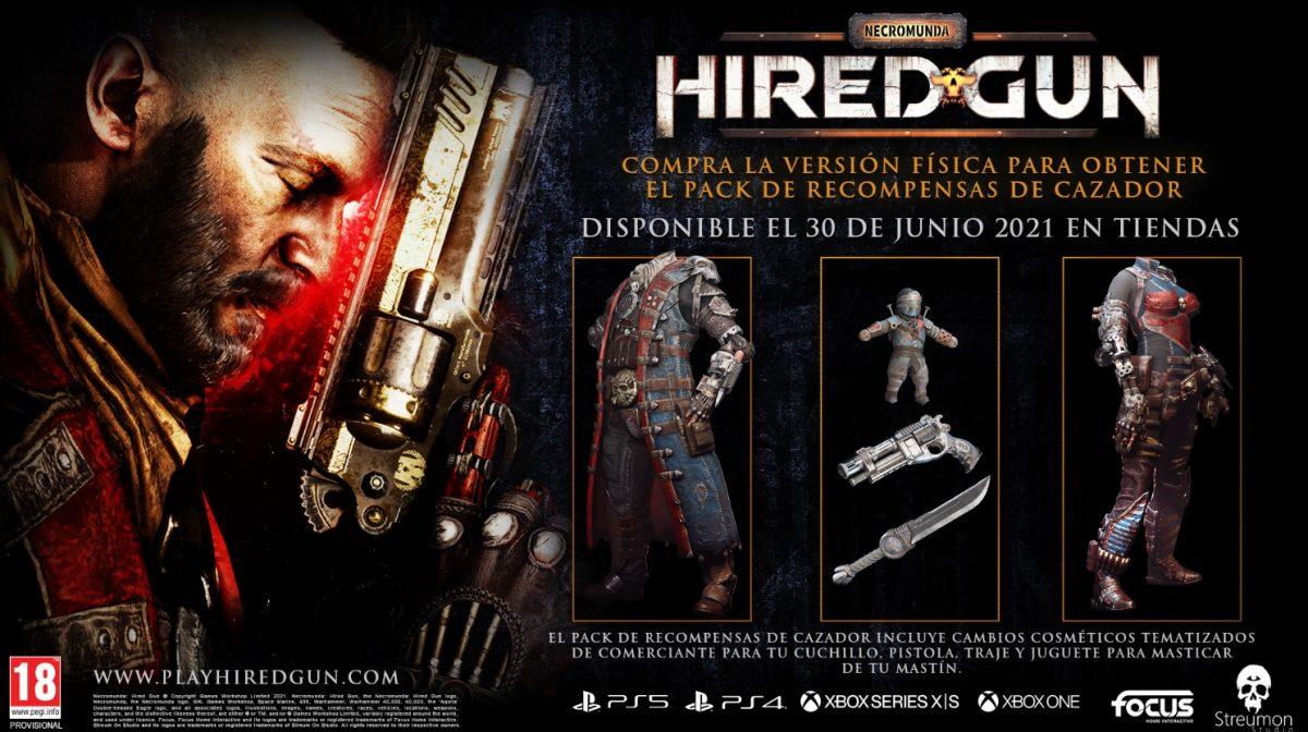 Necromunda Hired Gun Pack Recompensas del Cazador
