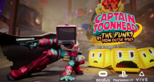 Captain ToonHead vs the Punks from Outer Space confirma su lanzamiento para PSVR
