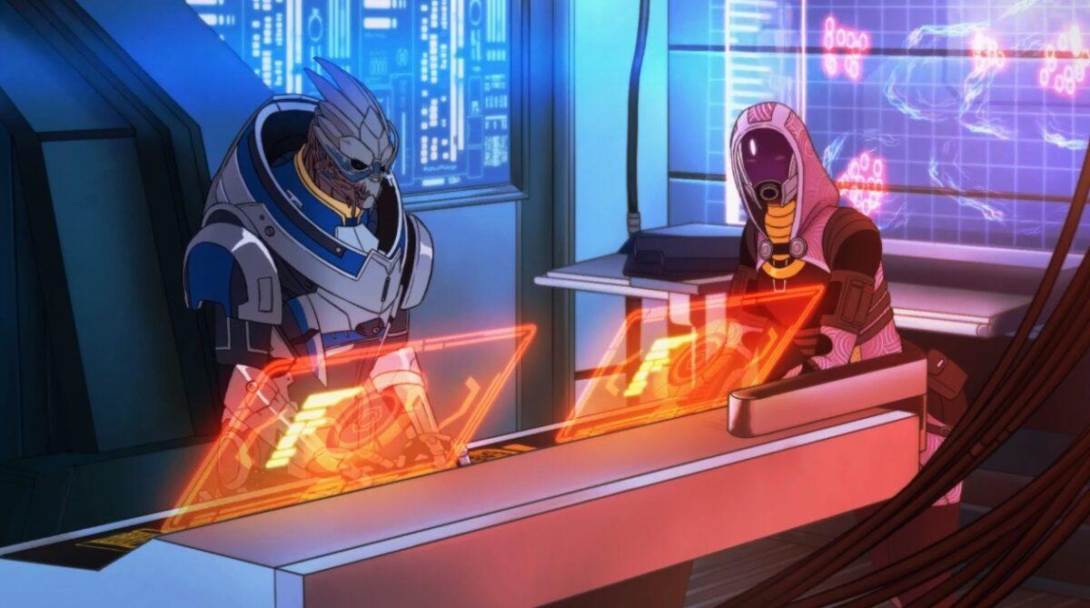 Mass Effect Legendary Edition OST Art