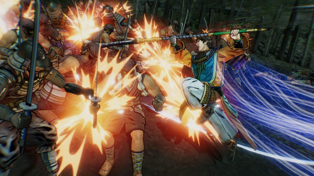 Samurai Warriors 5 Terumoto Mōri Action