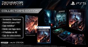 Ediciones físicas de Terminator: Resistance Enhanced para PlayStation 5