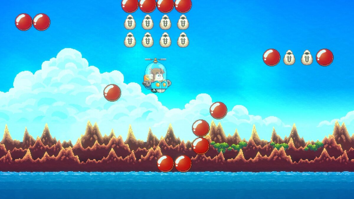 Alex Kidd in Miracle World DX Pecticopter