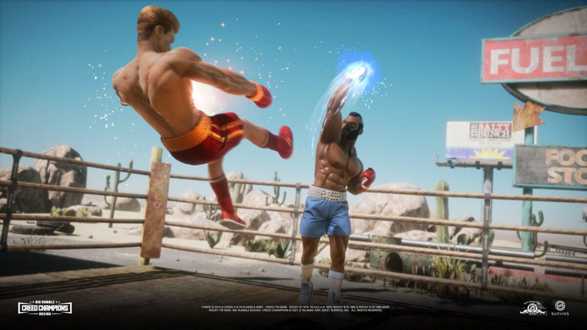 Big Boxing Rumble Creed Champions Clubber Ivan Desert TKO Screenshot - BRB -