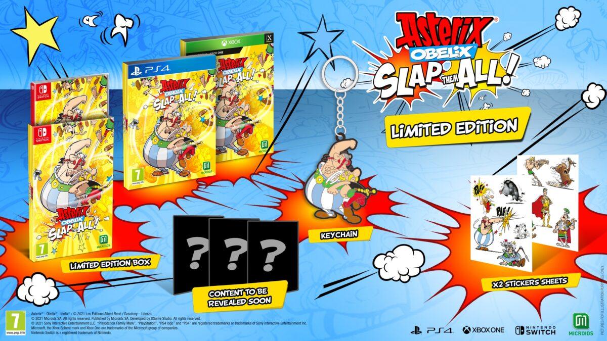 Asterix & Obelix; Slap Them All! Limited Ed