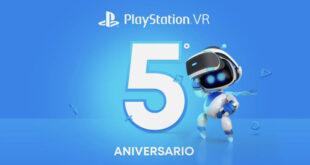 PSVR cumple 5 años y lo celebra regalando juegos
